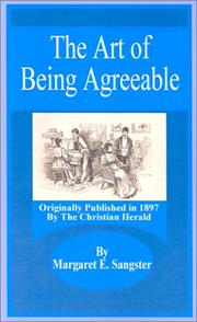Cover of: The Art of Being Agreeable