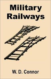 Cover of: Military railways
