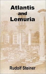 Cover of: Atlantis and Lemuria