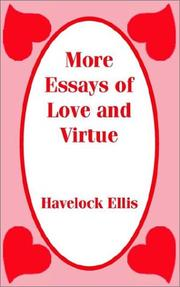 Cover of: More Essays of Love and Virtue