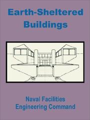 Cover of: Earth-Sheltered Buildings | Naval Facilities Engineering Command