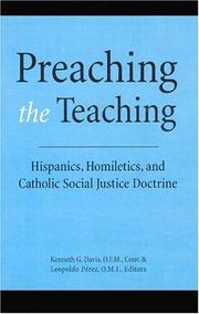 Cover of: Preaching the Teaching |