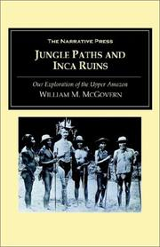 Cover of: Jungle Paths and Inca Ruins
