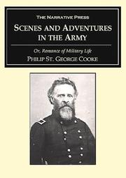 Cover of: Scenes and Adventures in the Army
