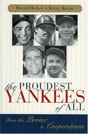 Cover of: The Proudest Yankees of All | David Hickey
