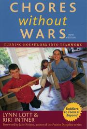 Cover of: Chores without wars