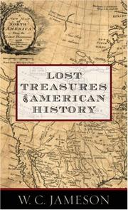 Cover of: Lost Treasures of American History | W. C. Jameson