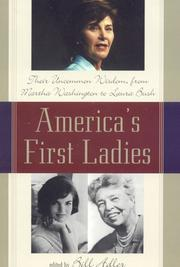 Cover of: America's First Ladies