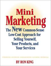 Cover of: Mini marketing | Ron King