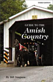 Cover of: Guide to the Amish country