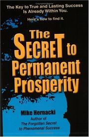 Cover of: Secret to Permanent Prosperity
