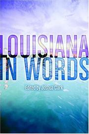 Cover of: Louisiana in Words