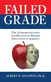 Cover of: Failed grade | Albert H. Soloway