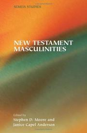 Cover of: New Testament masculinities |