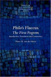 Cover of: Philo