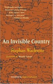Cover of: An invisible country