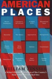 Cover of: American Places: A Writer's Pilgrimage to 15 of This Country's Most Visited and Cherished Sites