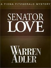 Cover of: Senator Love (Fiona Fitzgerald Mysteries)