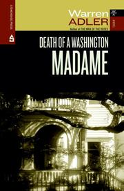 Cover of: DEATH OF A WASHINGTON MADAME