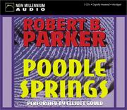 Cover of: Poodle Springs by Robert B. Parker