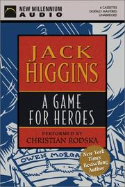 Cover of: A Game for Heroes |