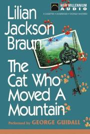 Cover of: Cat Who Moved a Mountain (Cat Who... (Audio))