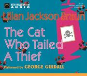 Cover of: The Cat Who Tailed a Thief (Cat Who... (Audio))