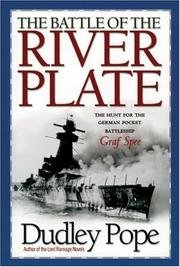 Cover of: The Battle of the River Plate  | Dudley Pope