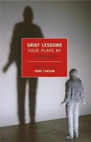 Cover of: Grief Lessons
