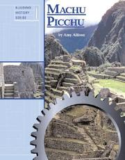 Cover of: Building History - Machu Picchu (Building History)