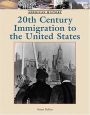 Cover of: Twentieth-Century Immigration to the United States (American History)