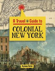 Cover of: A travel guide to colonial New York