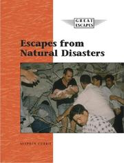 Cover of: Great Escapes - Escapes from Natural Disasters (Great Escapes)