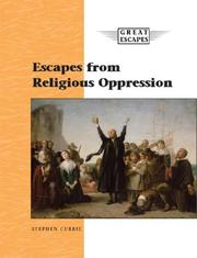 Cover of: Great Escapes - Escapes from Religious Oppression (Great Escapes)