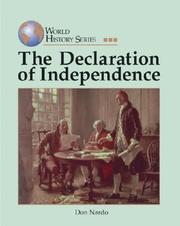 Cover of: World History Series - The Declaration of Independence
