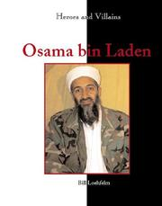 Cover of: Heroes & Villains - Osama bin Laden | Bill Loehfelm