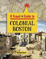 Cover of: A travel guide to colonial Boston