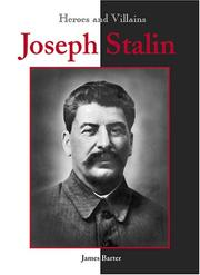 Cover of: Josef Stalin