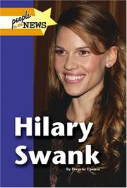 Cover of: Hilary Swank | Dwayne Epstein