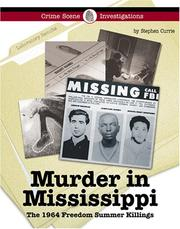 Cover of: Murder in Mississippi: the 1964 freedom summer killings