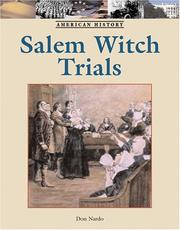 Cover of: The Salem Witch Trials (American History)