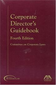 Cover of: Corporate director