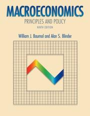 Cover of: Macroeconomics | William J. Baumol