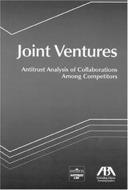 Cover of: Joint Ventures