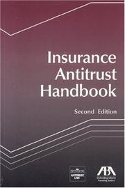 Cover of: Insurance Antitrust Handbook