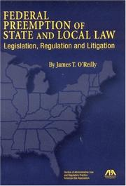Cover of: Federal Preemption of State and Local Law