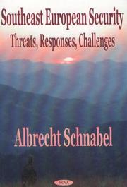 Cover of: Southeast European Security | Albrecht Schnabel