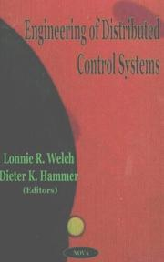 Cover of: Engineering of Distributed Control Sytems |