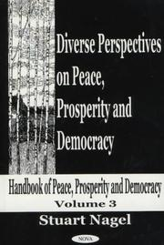 Cover of: Diverse Perspectives on Peace, Prosperity, and Democracy