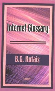 Cover of: Internet glossary